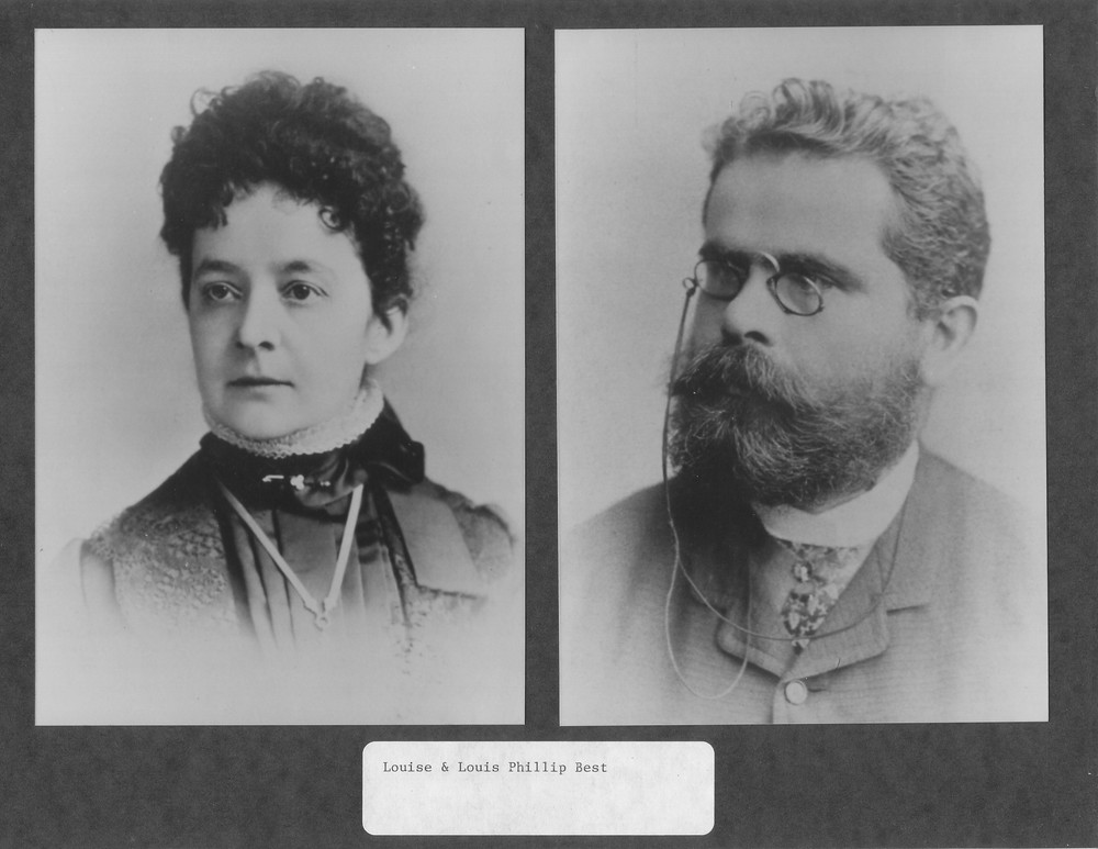 Louise (First Wife) and Louis P. Best