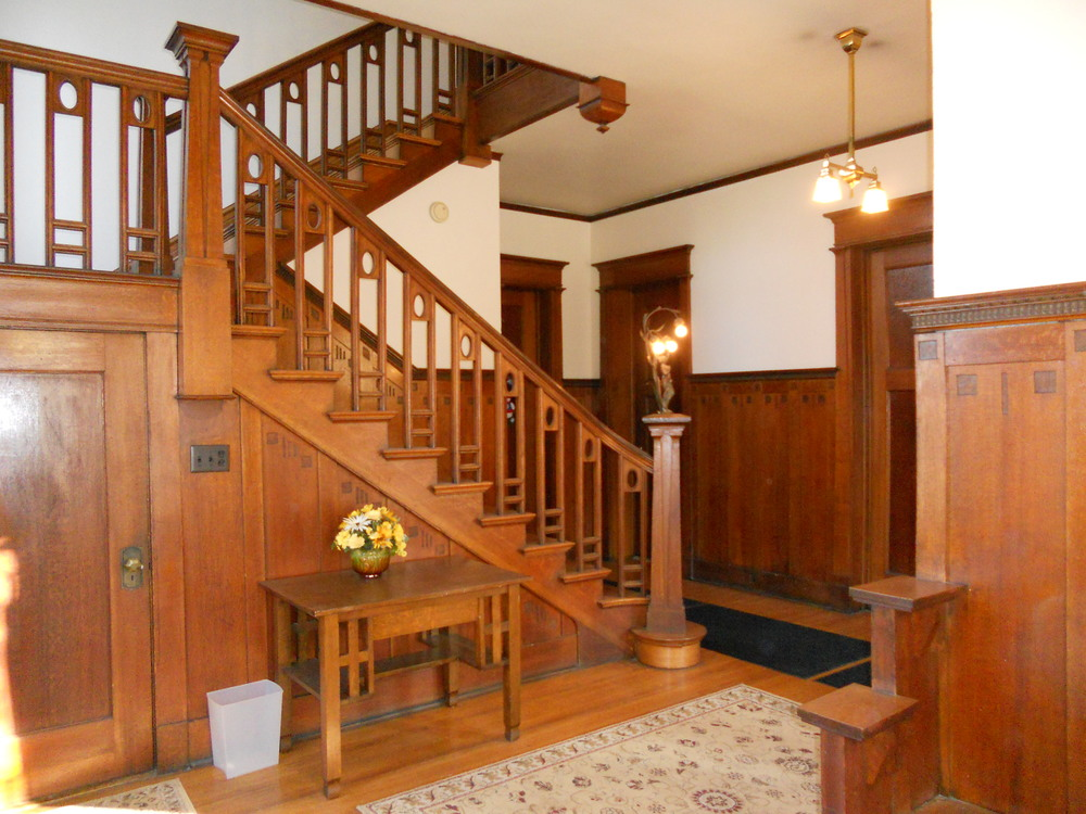 Front Hall and Staircase