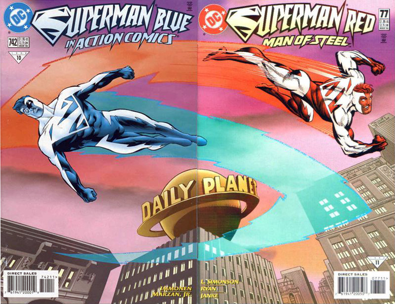 Superman Blue/Superman Red