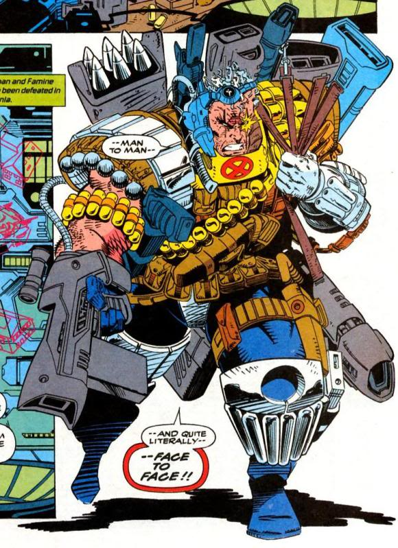 Cable knows how to accessorize, use everything!