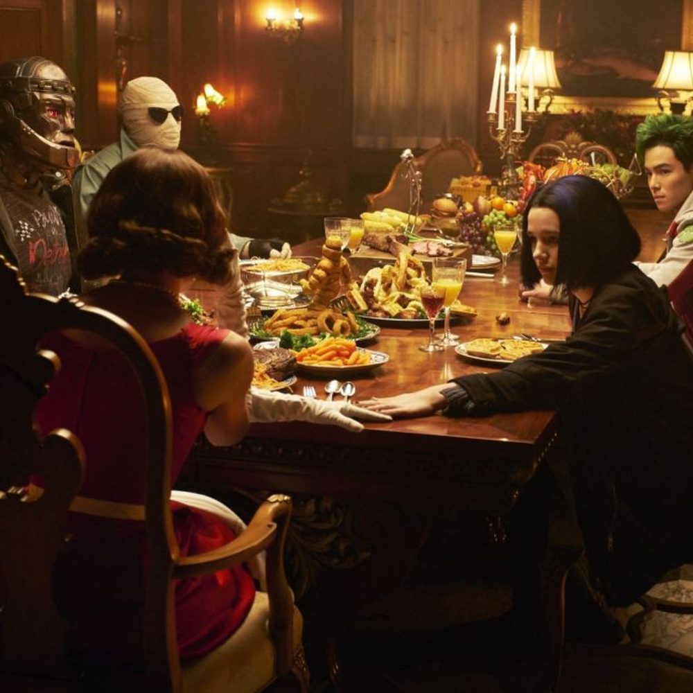 "Charles and Jessie discuss ""Doom Patrol"" s1e4 of DC's Titans"