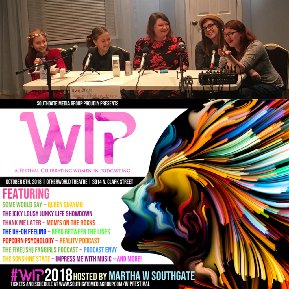 Women in Podcasting Festival  Panel 2018