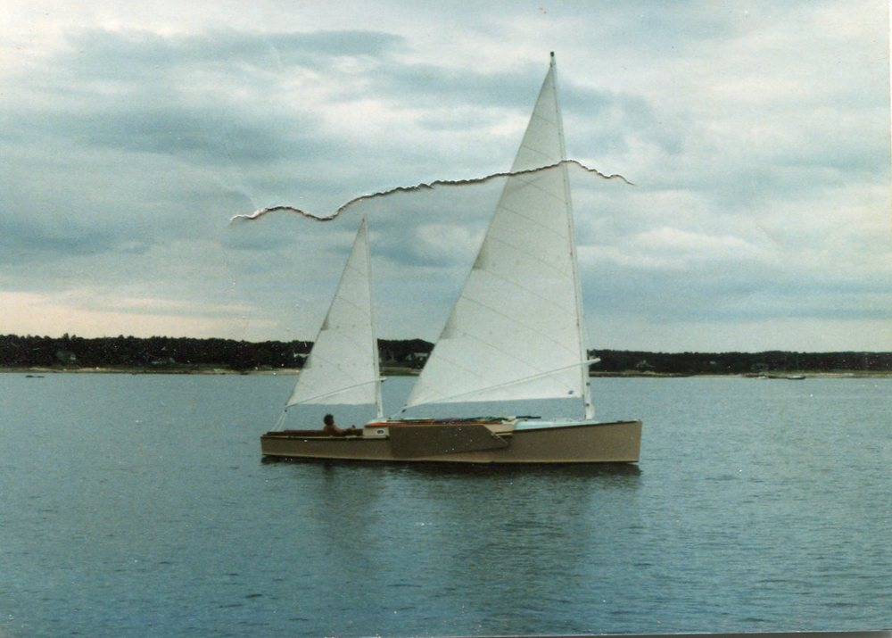 Pointer, Bolger rebuild, 33'