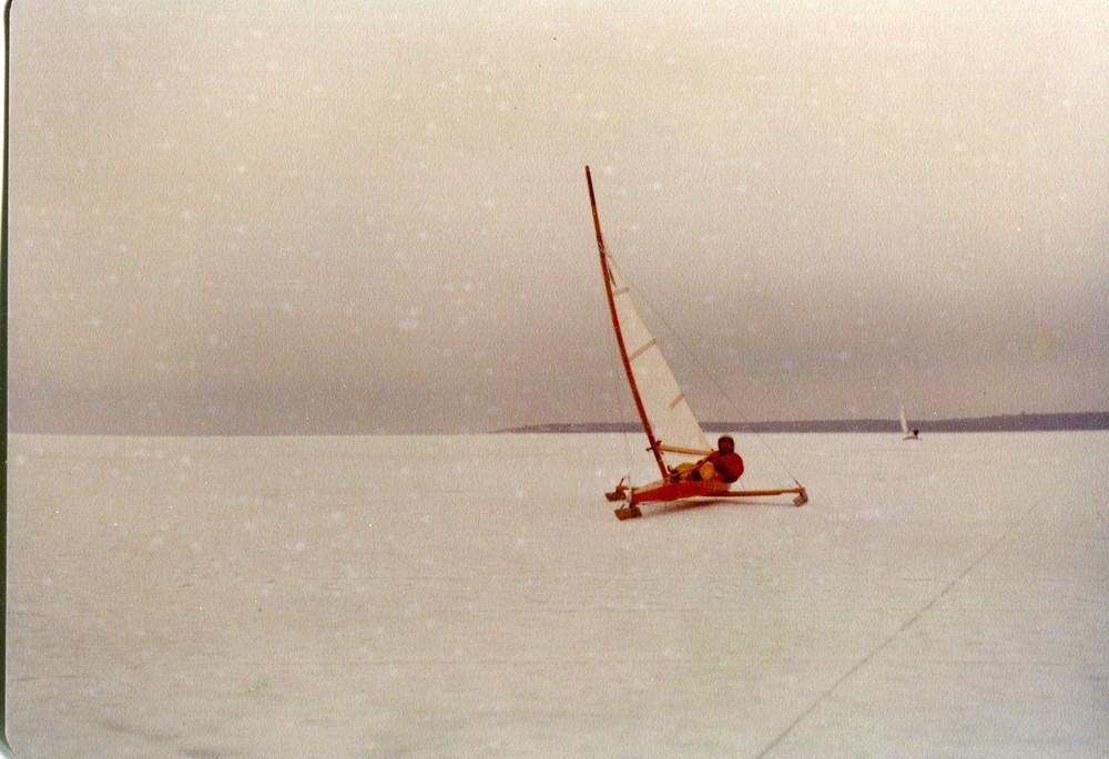 Ice boat - 1975