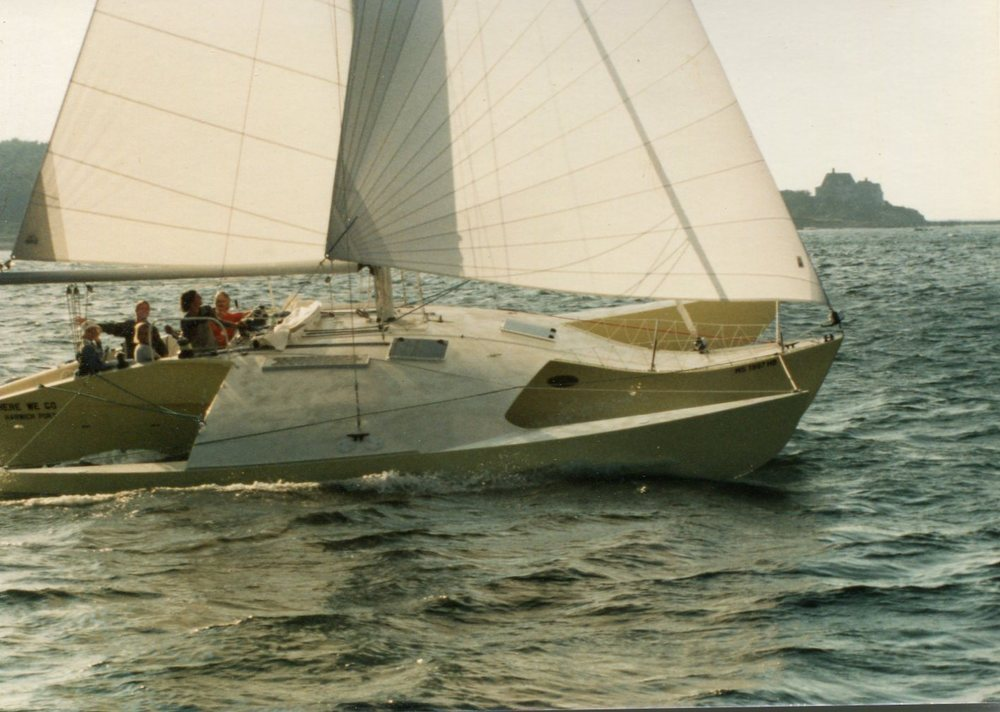 Here We Go - Newick, Trimaran, 38'