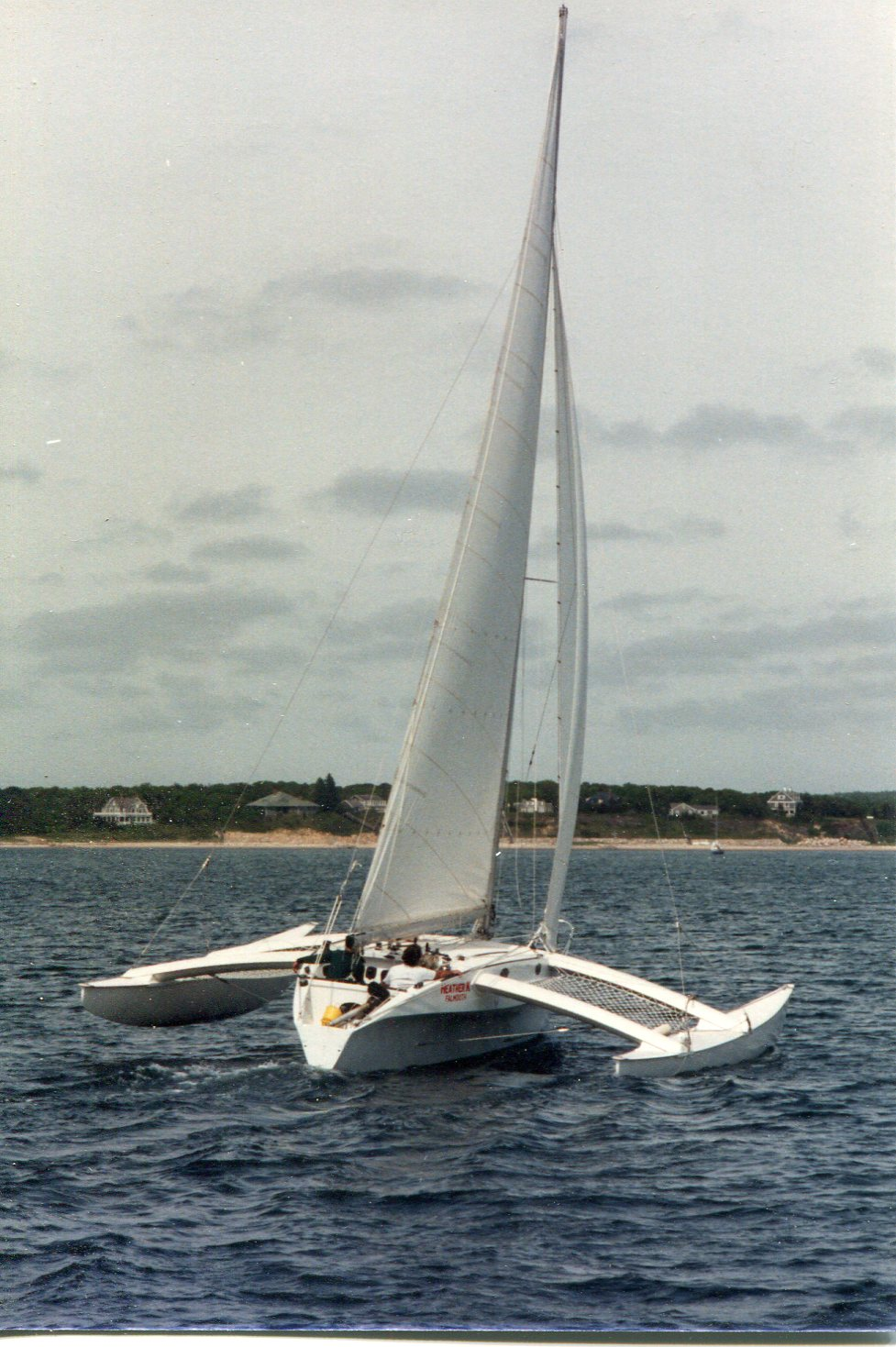 Heather K - Newick/McLaughlin, Trimaran 30'
