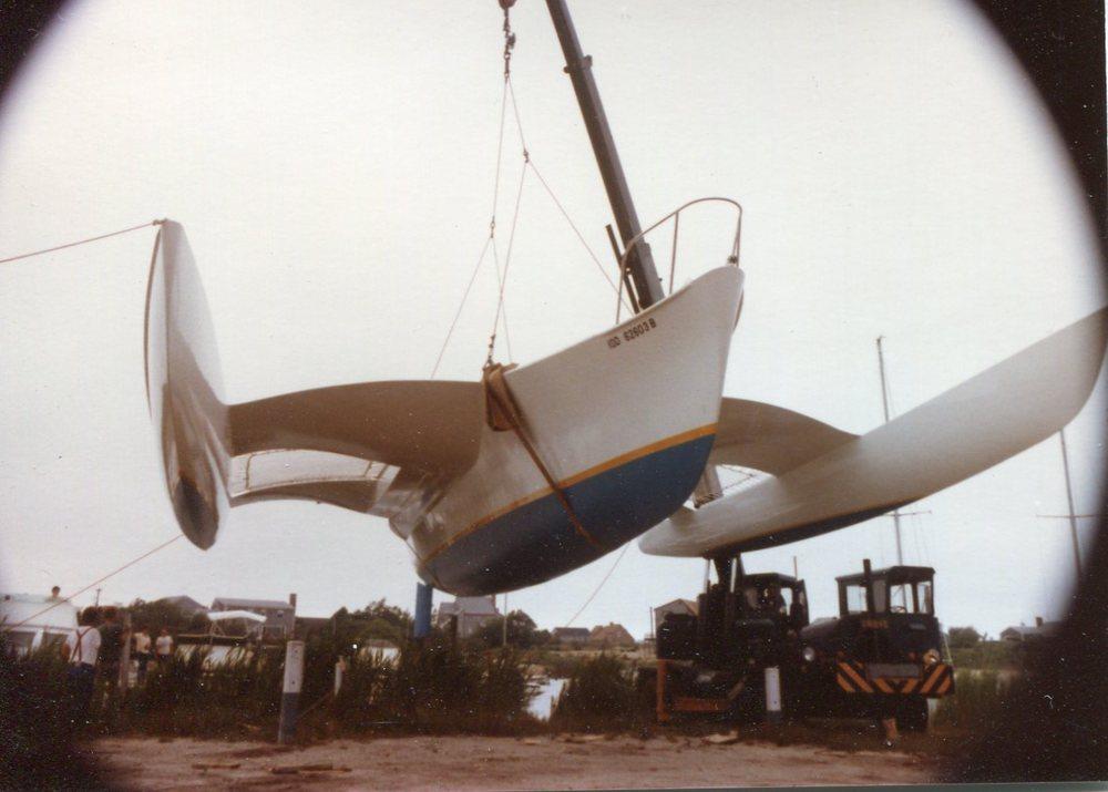 Rusty Pelican - Newick, Trimaran 45'