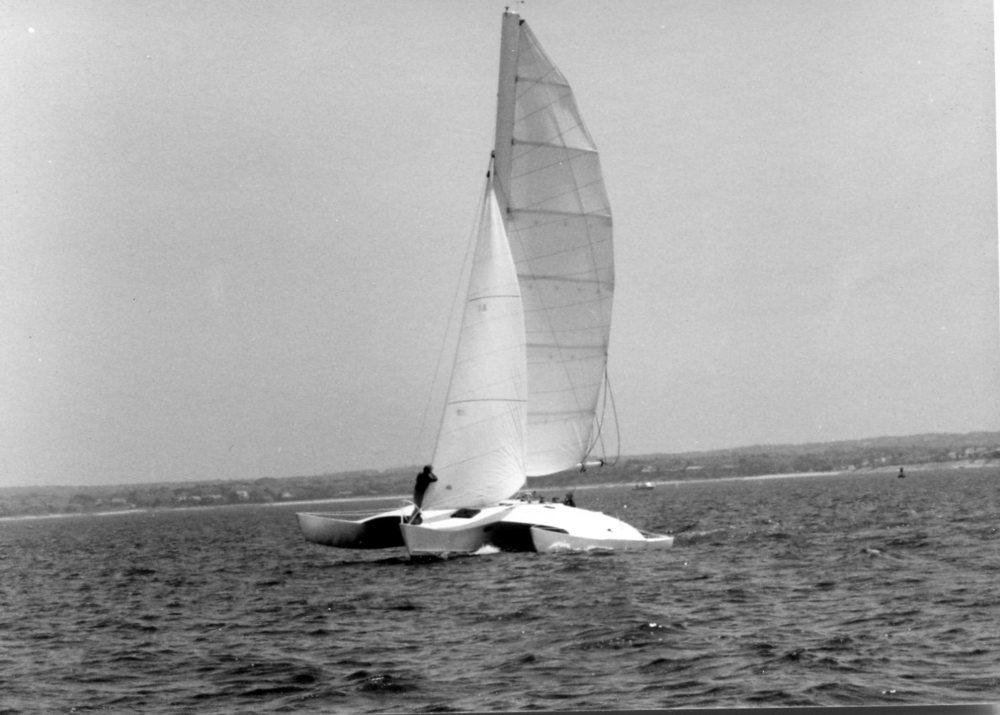 Wings - Newick, Trimaran 38'