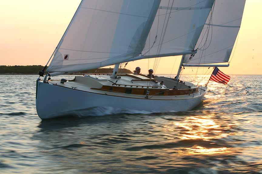 Monohull Boat - Walter Green, S.Herreshoff 42'