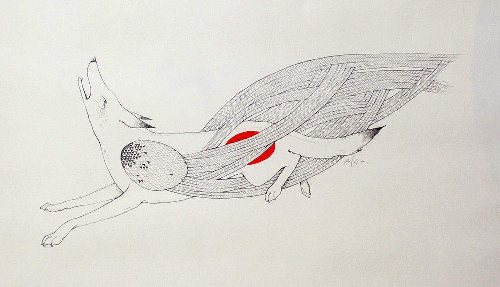Flight Alyssa Grenning Graphite & Ink