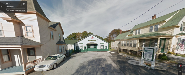 Chases Garage is tucked between two houses just up the street from York Beach