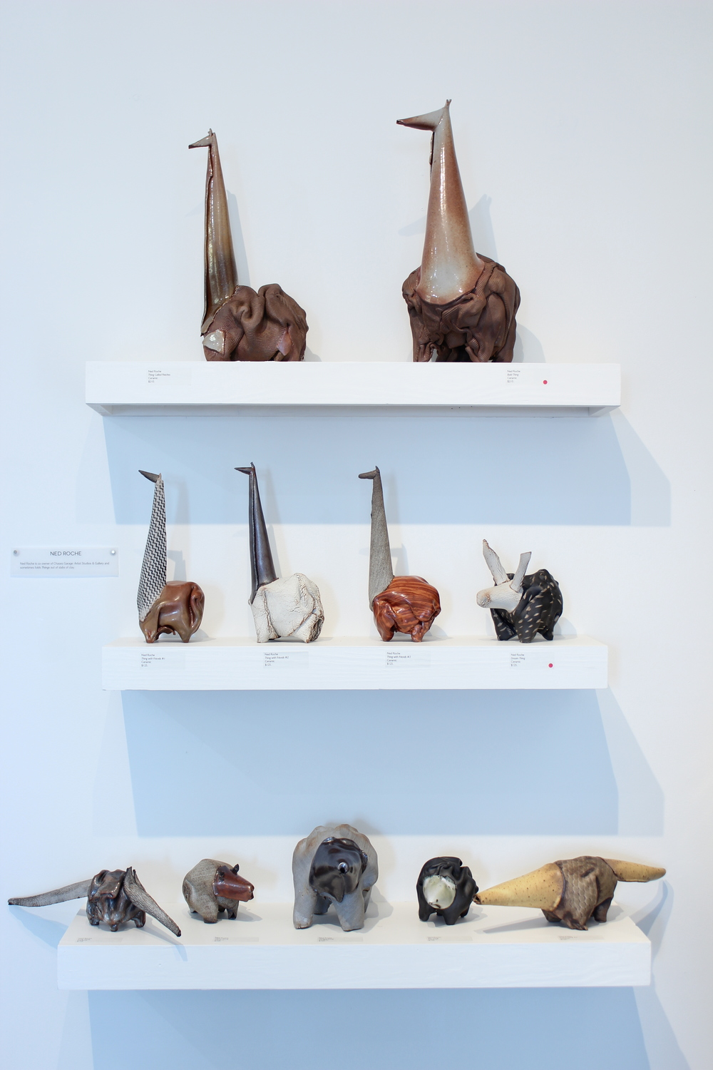 Ned Roche  Things  Ceramic Sculpture