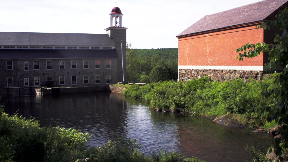 Old Mill Town, Harrisville, New Hampshire