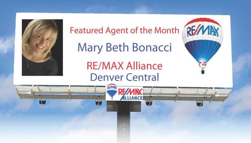 (Note: There is no actual billboard.  Just a cool graphic by RE/MAX Alliance.)