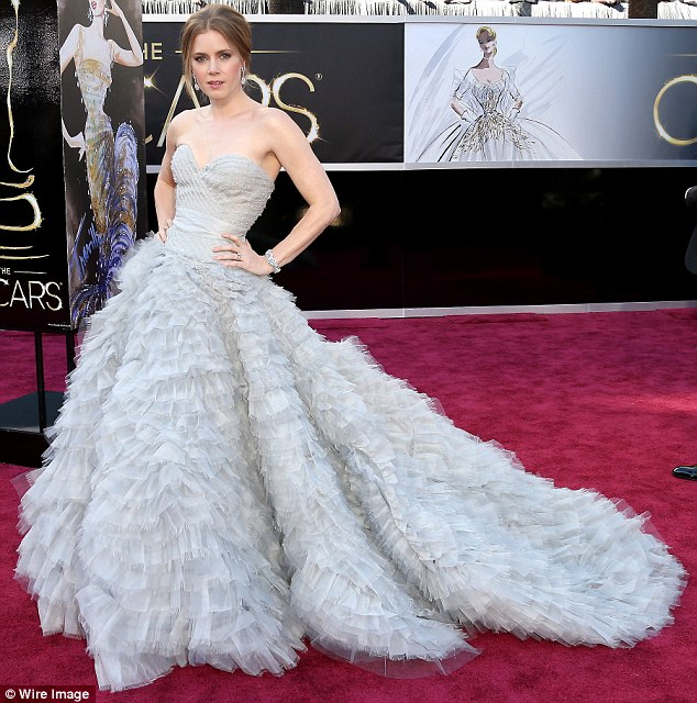 Glamour:  Lastly this ruffle princess-inspired gown was spectacular.  This might be our favourite.