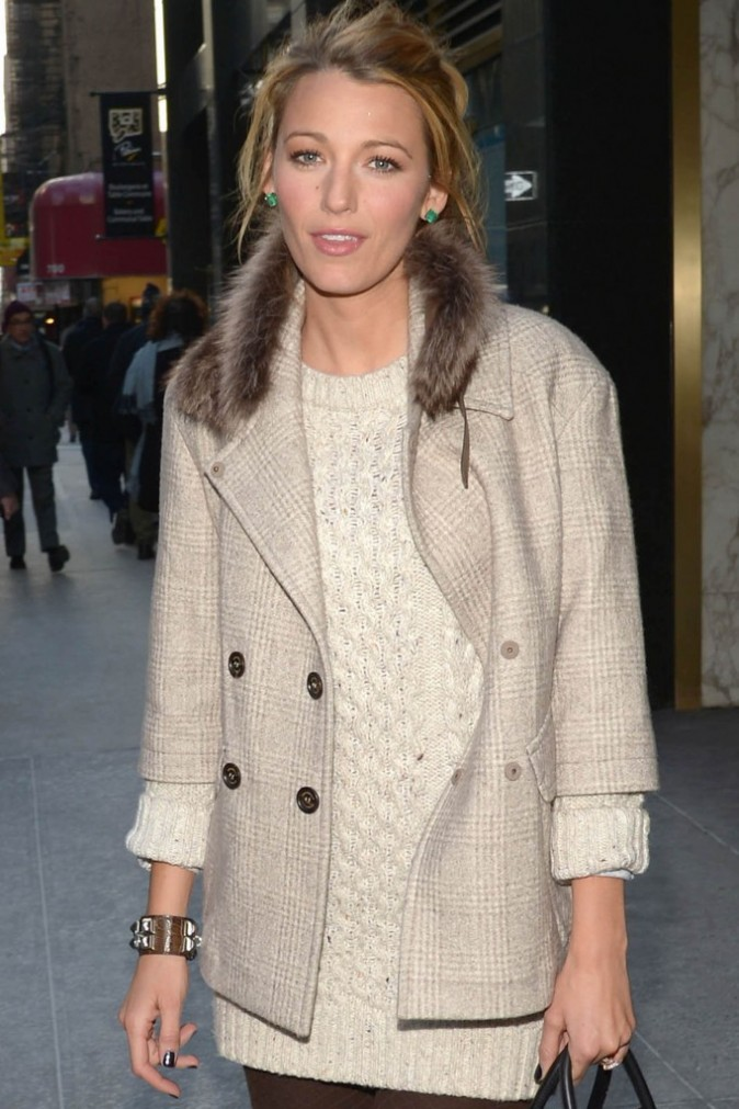 Blake Lively in Brunello Cucinelli