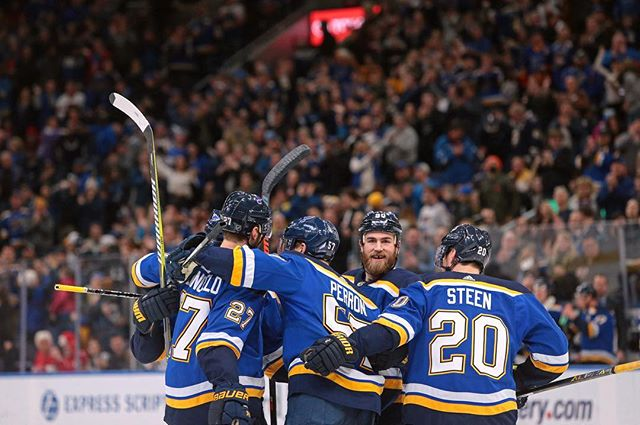 The @stlouisblues won 5-2 yesterday against the Washington Capitals. #stltoday #onassignment