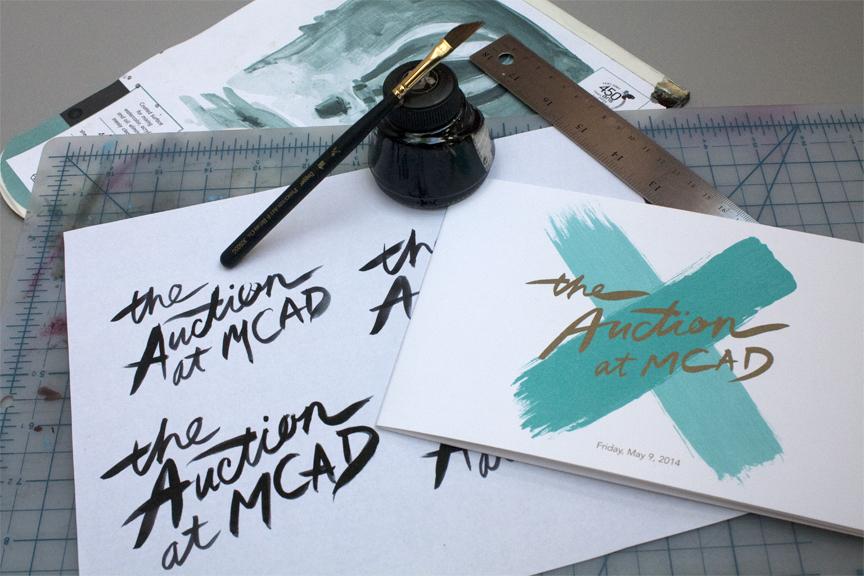 Lettering exploration for logo