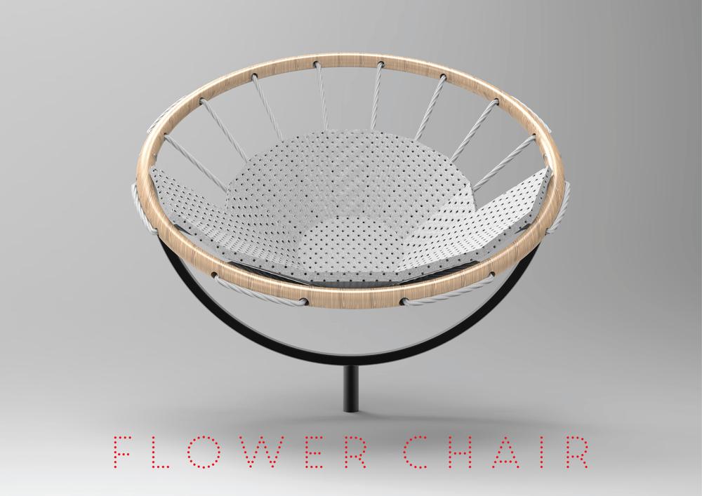 Viva la Flower Chair