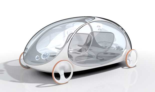 Ross Lovegrove's Kyoto car concept