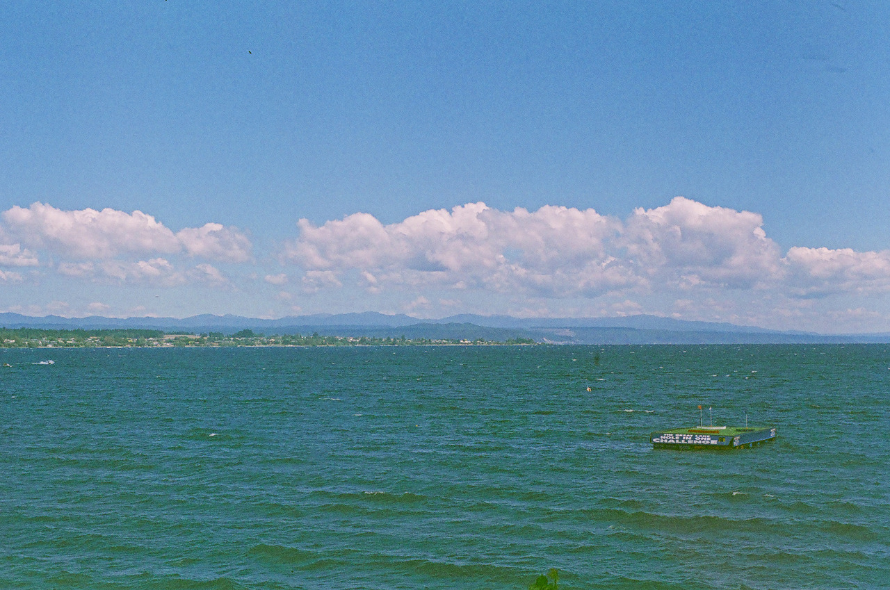 Lake Taupo. Minolta srt 101