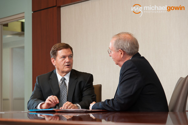 President and CEO Ed Curtis, Memorial Health System, Springfield, Illinois, Annual Report - Michael Gowin Photography
