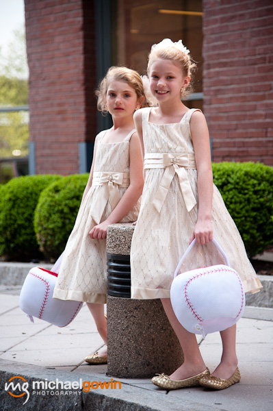 Picture of flower girls - Westin Hotel - Busch Stadium wedding - St. Louis, Missouri - Michael Gowin Photography