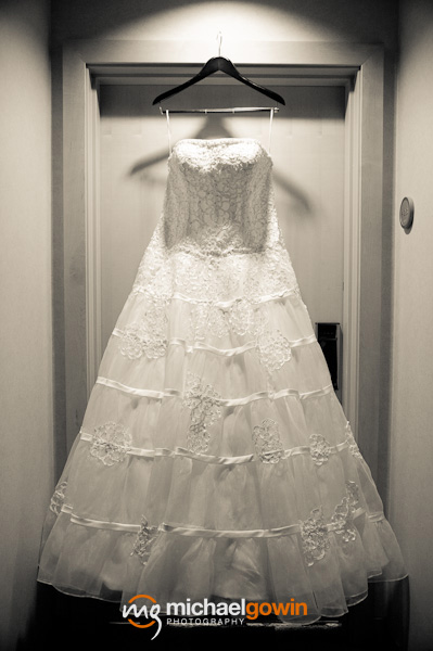 Wedding dress photograph - St. Louis, Missouri - Michael Gowin Photography