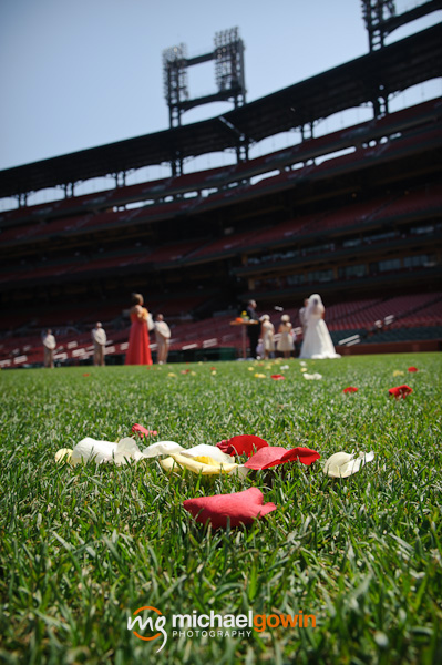 Busch Stadium wedding - St. Louis, Missouri - Michael Gowin Photography