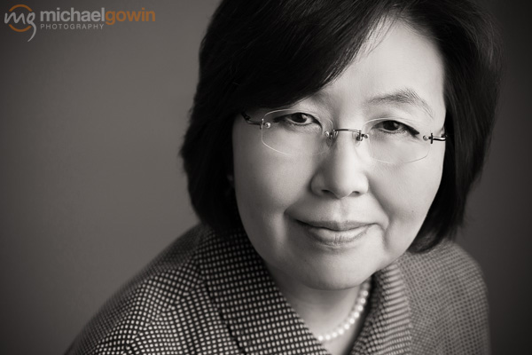 Dr. Mariana Hwang, Lincoln Christian University :: Michael Gowin Photography :: Peoria, Illinois, Headshot Photographer