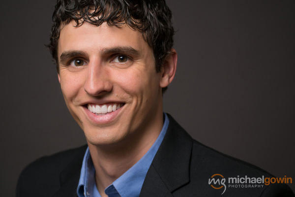 Business headshot for Joel Taylor, RMS, Peoria, Illinois :: Michael Gowin Photography
