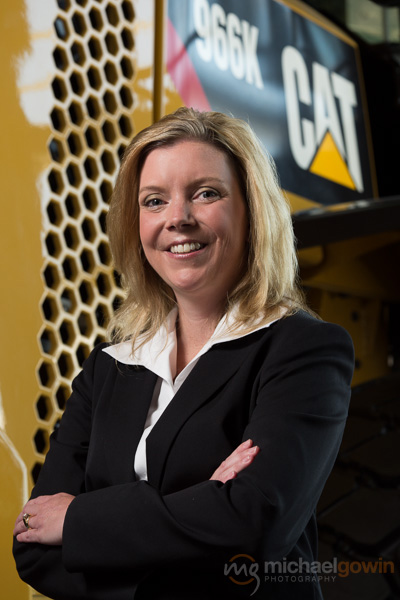 Kimberly Hauer, Chief Human Resources Officer, Caterpillar Inc., Peoria, Illinois :: Michael Gowin Photography