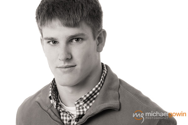 Sam, Senior 2014 :: Springfield, Illinois, Headshot Photographer :: Michael Gowin Photography, Lincoln, IL