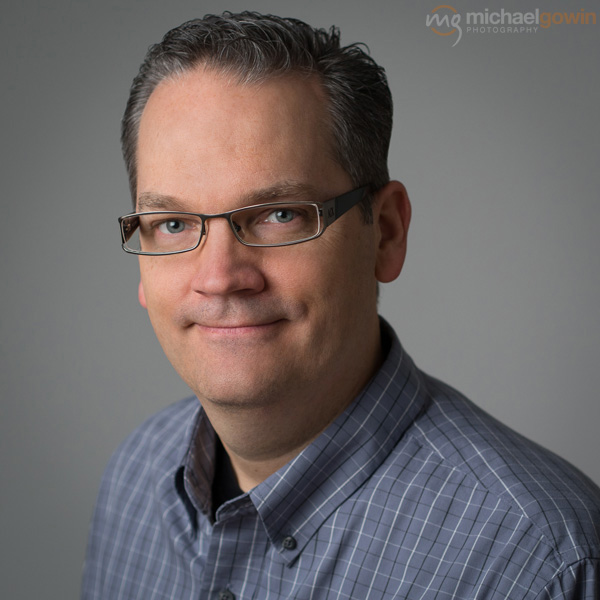Dr. Todd Nobbe, optometrist/eye doctor :: Michael Gowin Photography, Lincoln, IL