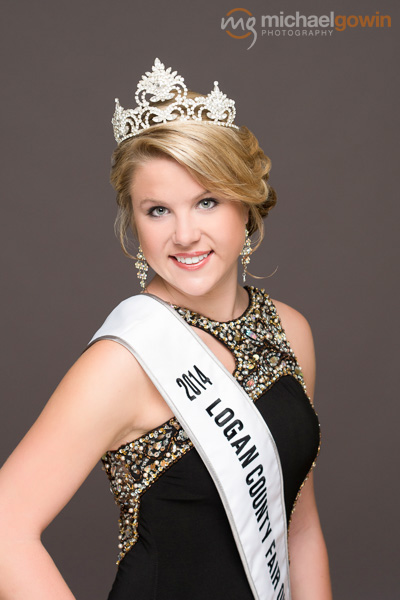 Alyssa Morris, 2014 Logan County Fair Queen :: Michael Gowin Photography, Lincoln, Illinois