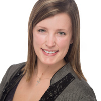 Woman's professional business headshot, Lincoln, Illinois