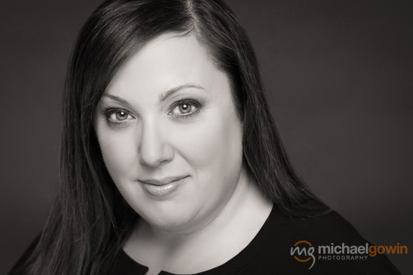 Amy McCoskey, sales professional headshot/business portrait :: Michael Gowin Photography, Lincoln, IL