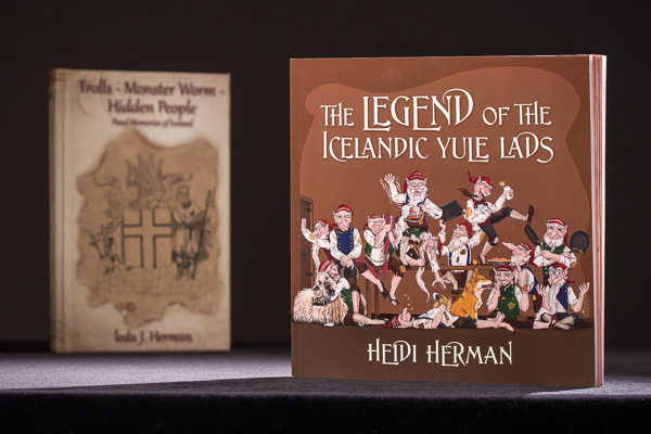 Book product photograph for Heidi Herman, author :: Michael Gowin Photography, Lincoln, IL