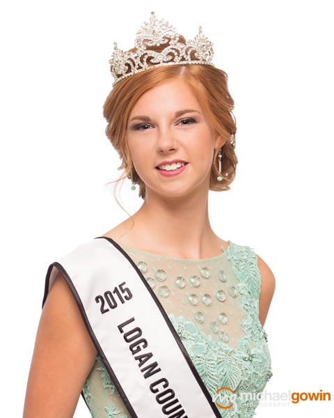 Lizzie Ford, 2015 Miss Logan County :: Michael Gowin Photography, Lincoln, IL