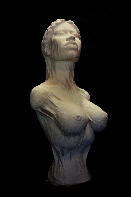 Veiled , ceramic, 2017