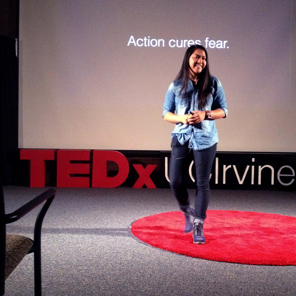 Me speaking at TEDxUCIrvine!