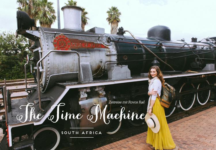 Zug-Reise von Johannesburg nach Kapstadt