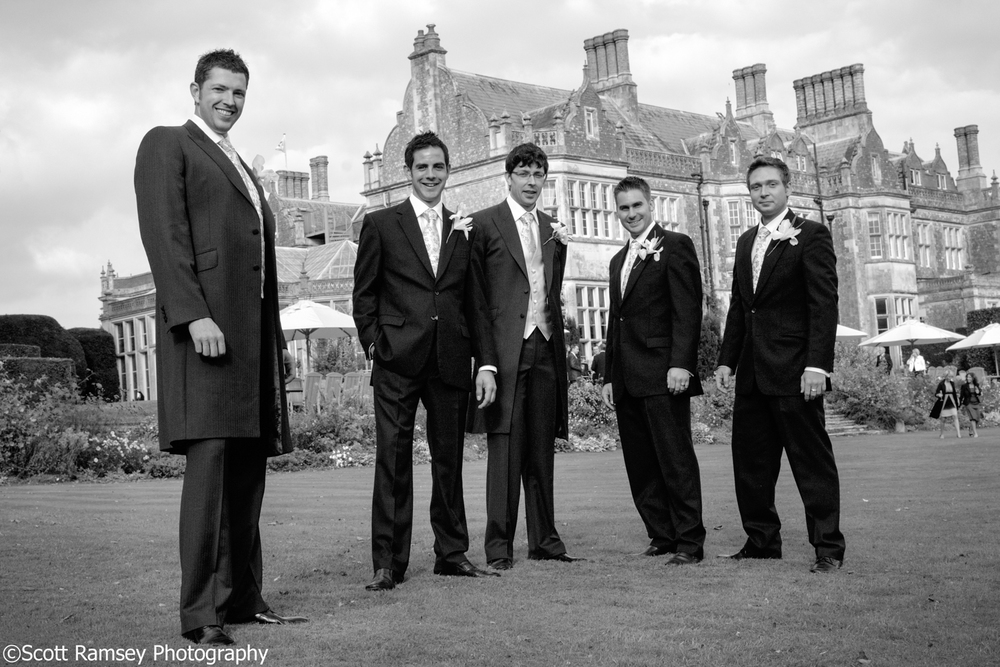 Wiston House Wedding Groom