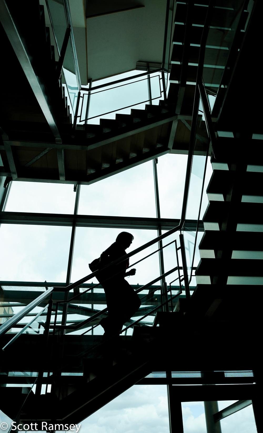 Bracknell Corporate Office Photography Stairs