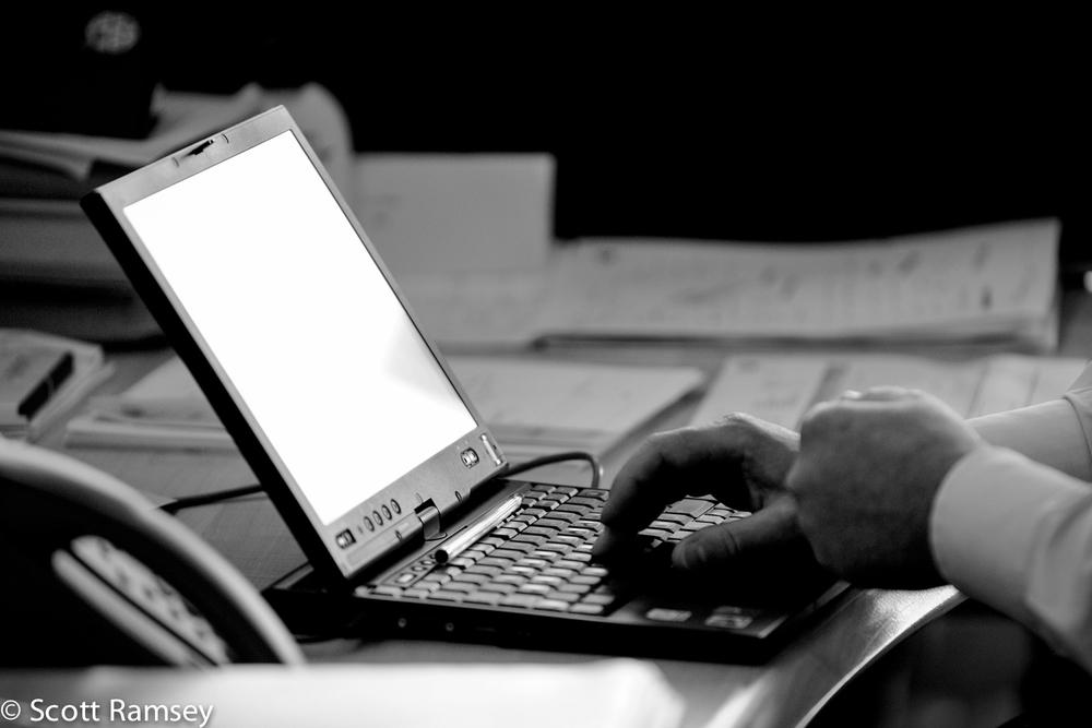 Bracknell Corporate Photography Laptop