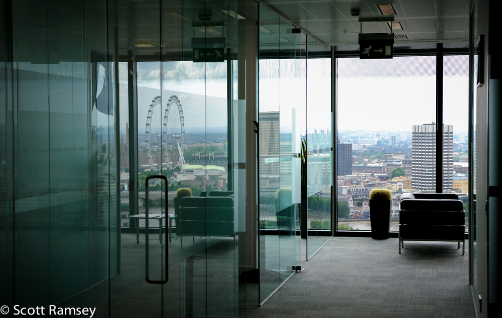 Corporate Photography London Office Interior
