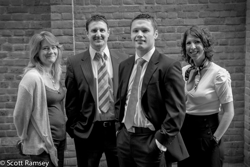 London Staff Group Corporate Photography