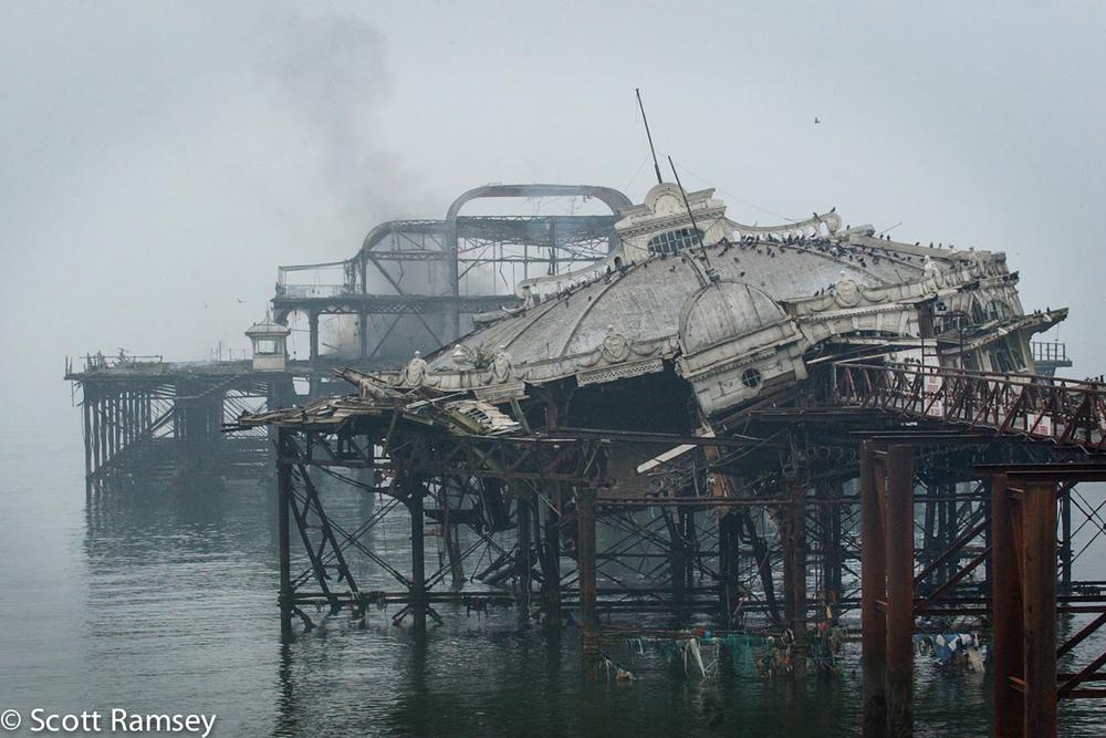 Brighton West Pier Remains 1