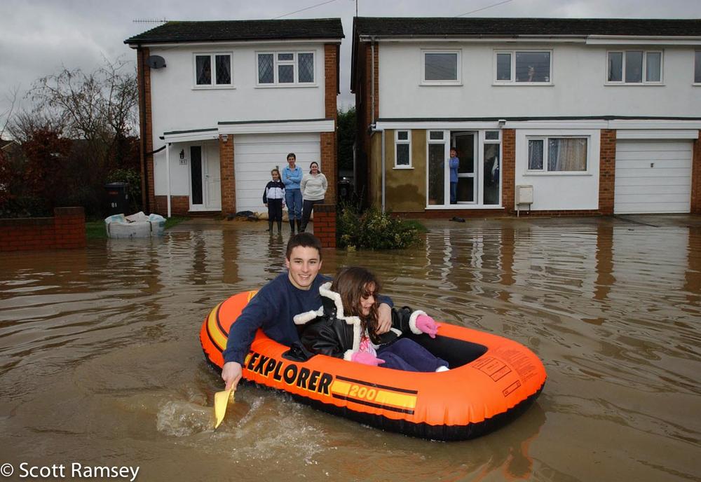 Children Boast Flood Kent