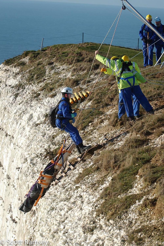 Coastguard Rescue Beachyhead Sussex 2